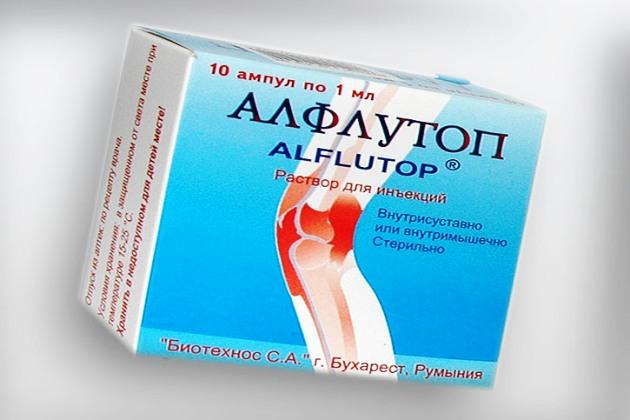 препарат для суставов Алфлутоп