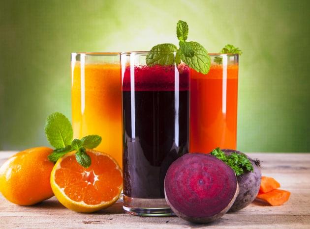 диета для суставов включает в себя соки