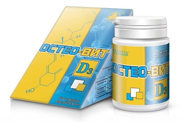 Остеовит - препарат для лечения остеопороза