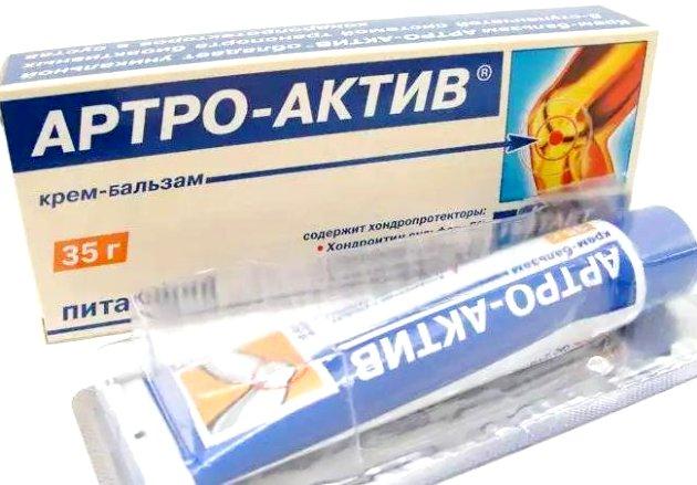 разогревающая мазь для суставов Артро-актив