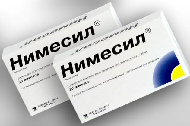 таблетки для суставов Нимесил