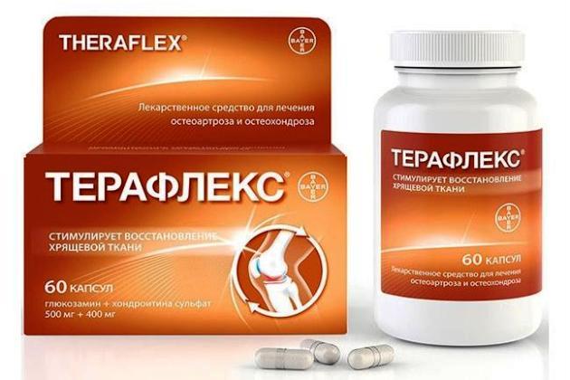 таблетки для суставов Терафлекс
