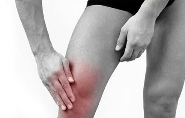нарушение функционирования коленного сустава при болезни Шляттера