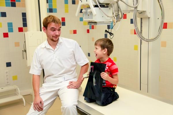 йифровой рентген суставов ребенку
