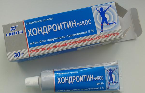 Хондроитин-Акос - аналог хондроксида