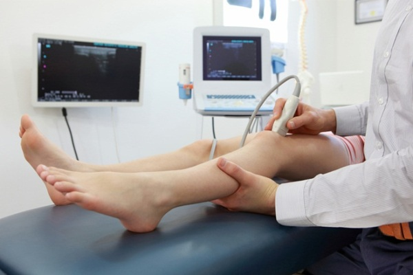 диагностика бурсита коленного сустава