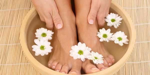 ванночки при косточке на большом пальце ноги