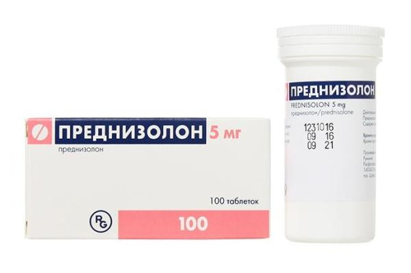 преднизолон - препарат при артрите