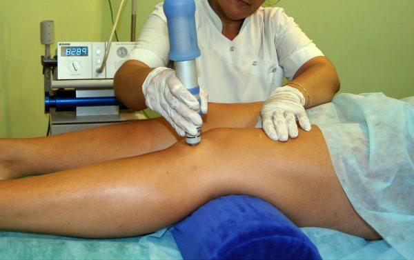 Физиотерапия при синовите коленного сустава